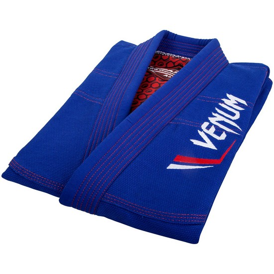 Кимоно Venum Elite Light BJJ Gi Blue& фото 5