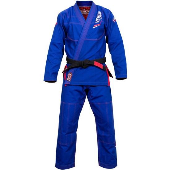 Кимоно Venum Elite Light BJJ Gi Blue& фото 3