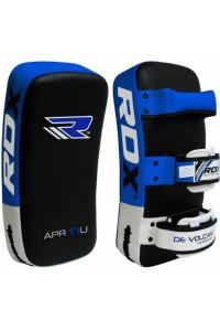 Пэды RDX Thai Strike Pads for KickBoxing with Curve Blue (1 шт)